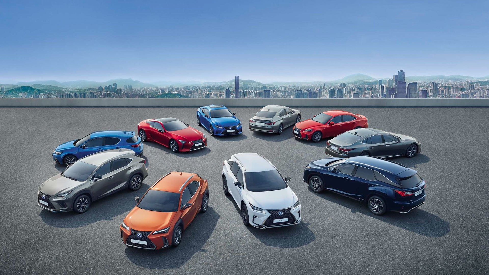 Lexus en Automobile Barcelona 2019 hero asset