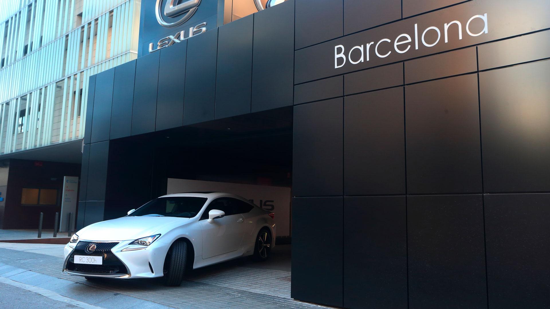 Lexus Barcelona hero asset