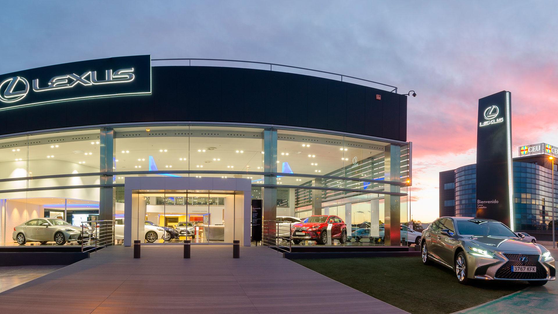Nuevas instalaciones de Lexus Castellón hero asset