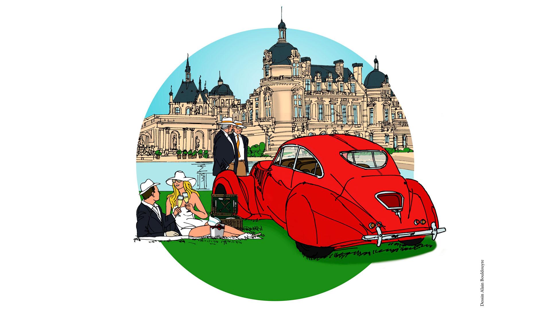 Imagen del evento de vehículos Chantilly Arts Elegance