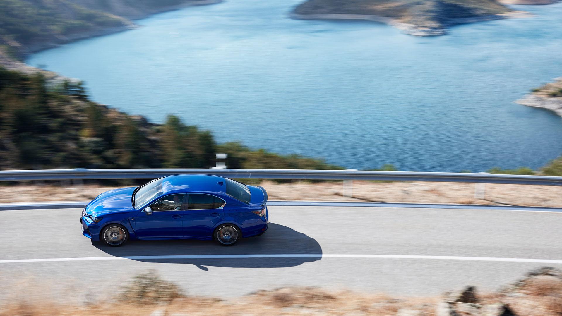 Lexus desvela Lexus GS F hero asset