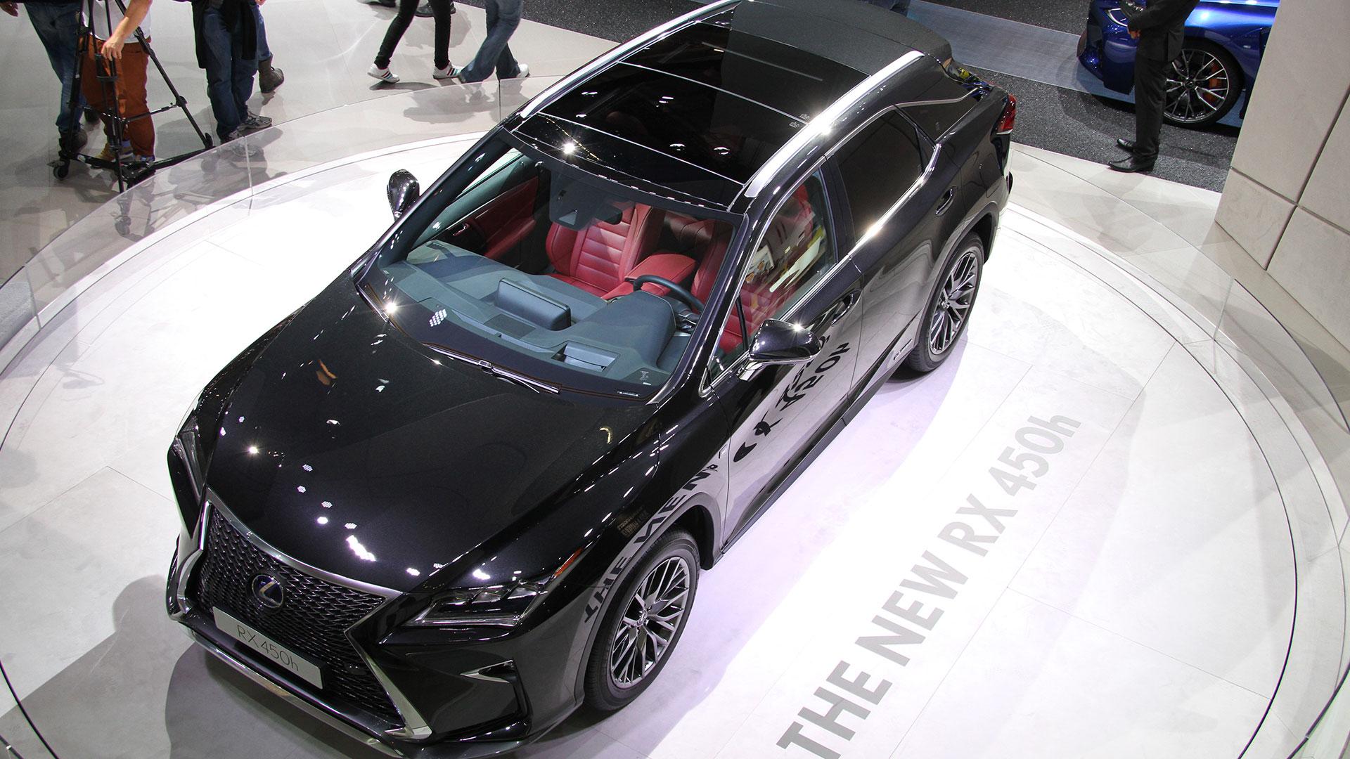 Lexus Salón del Automóvil 2015 Frankfurt hero asset