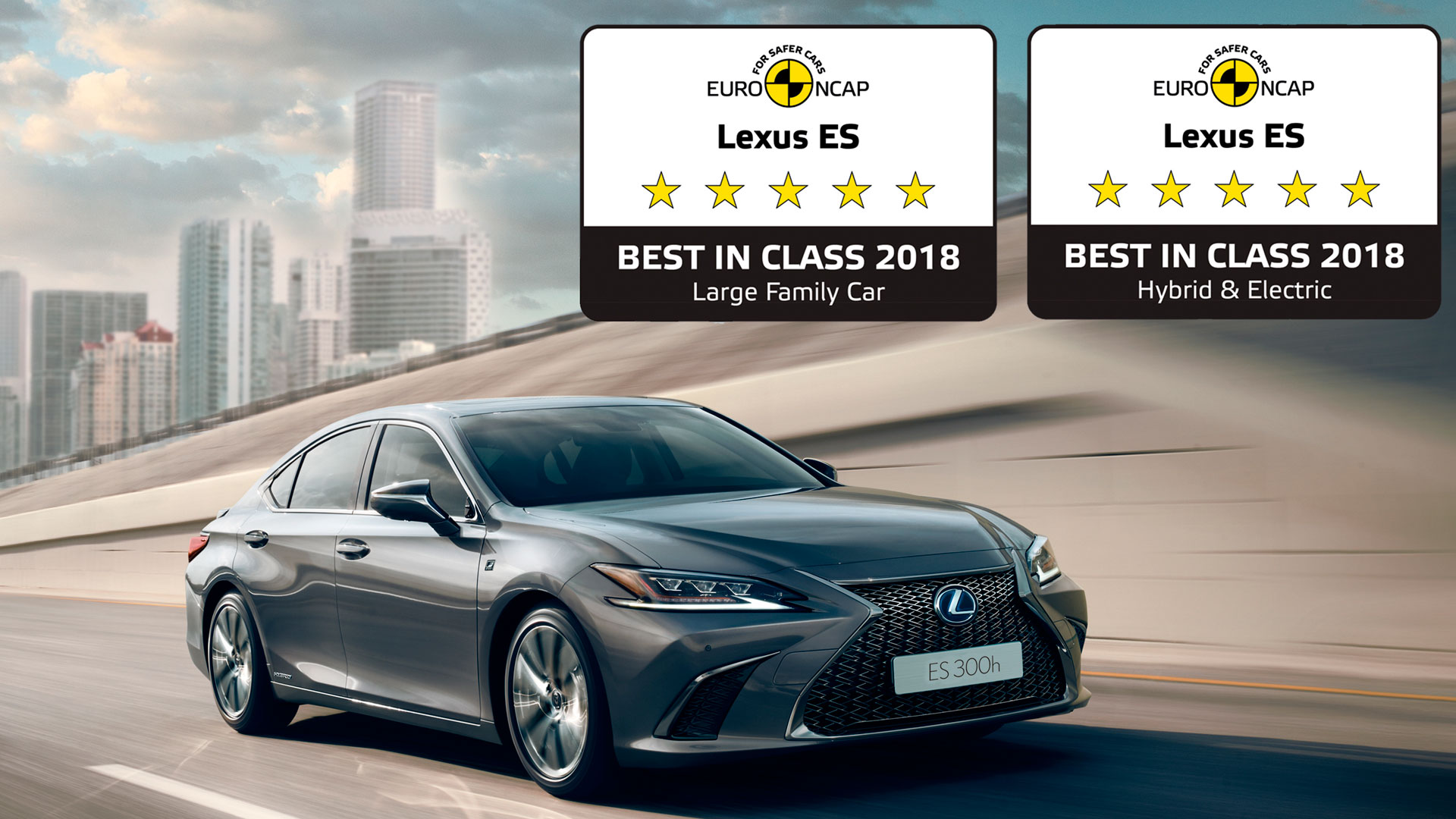 Lexus ES seguro hero asset