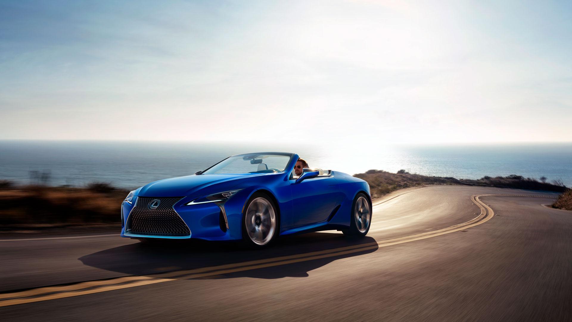 Lexus LC Cabrio belleza definitiva hero asset