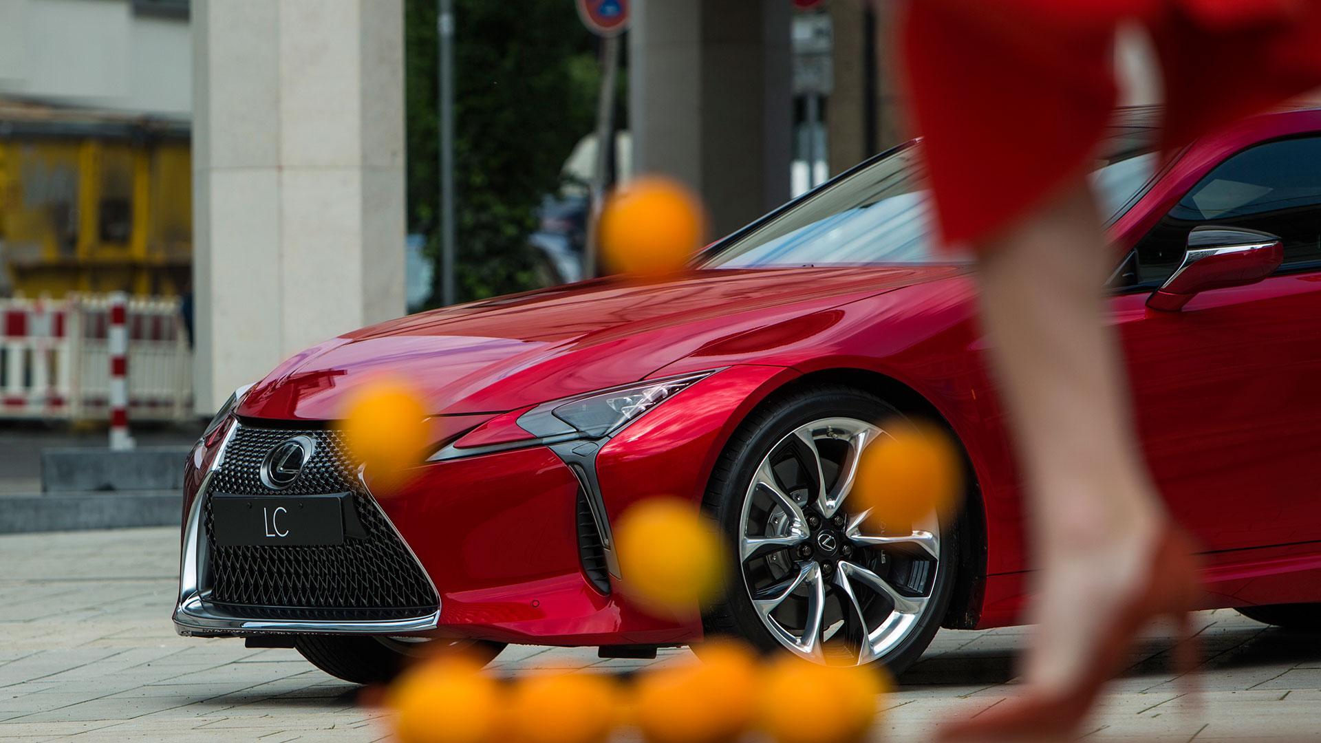 Lexus LCOnTour hero asset