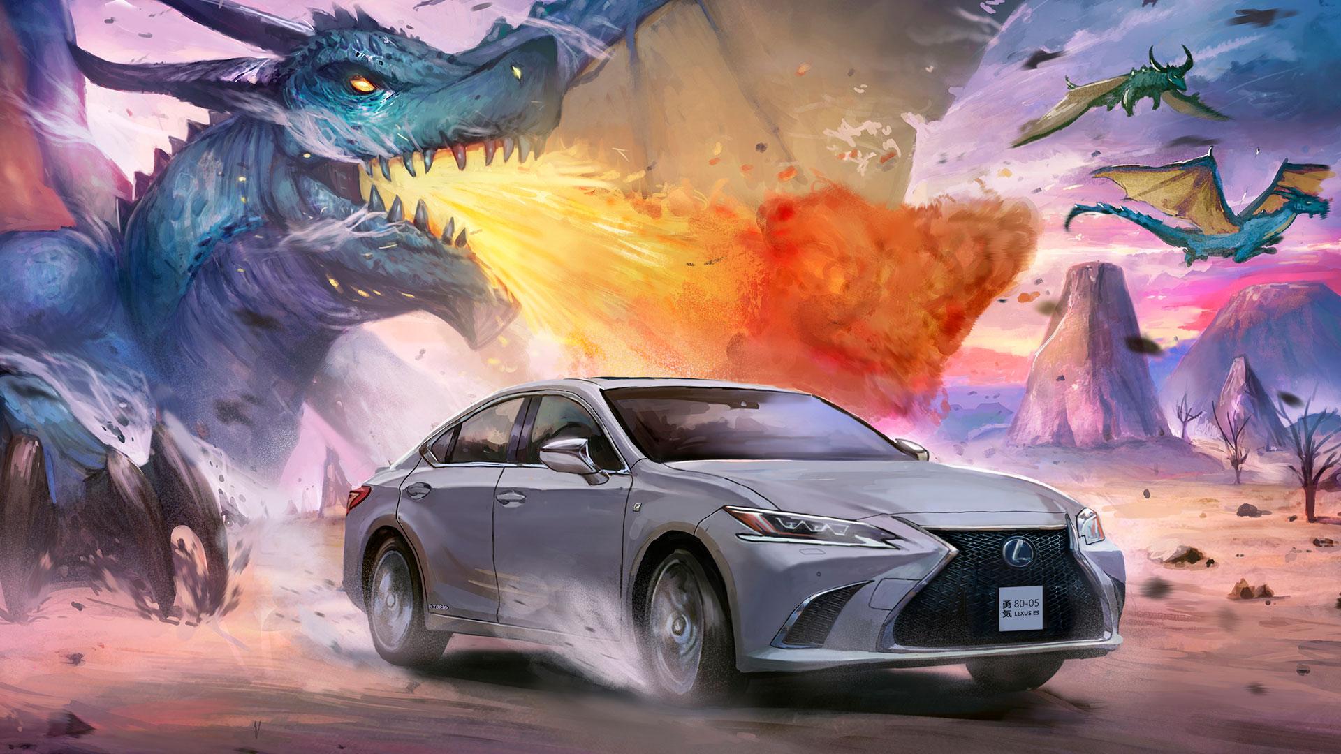 Lexus manga hero asset