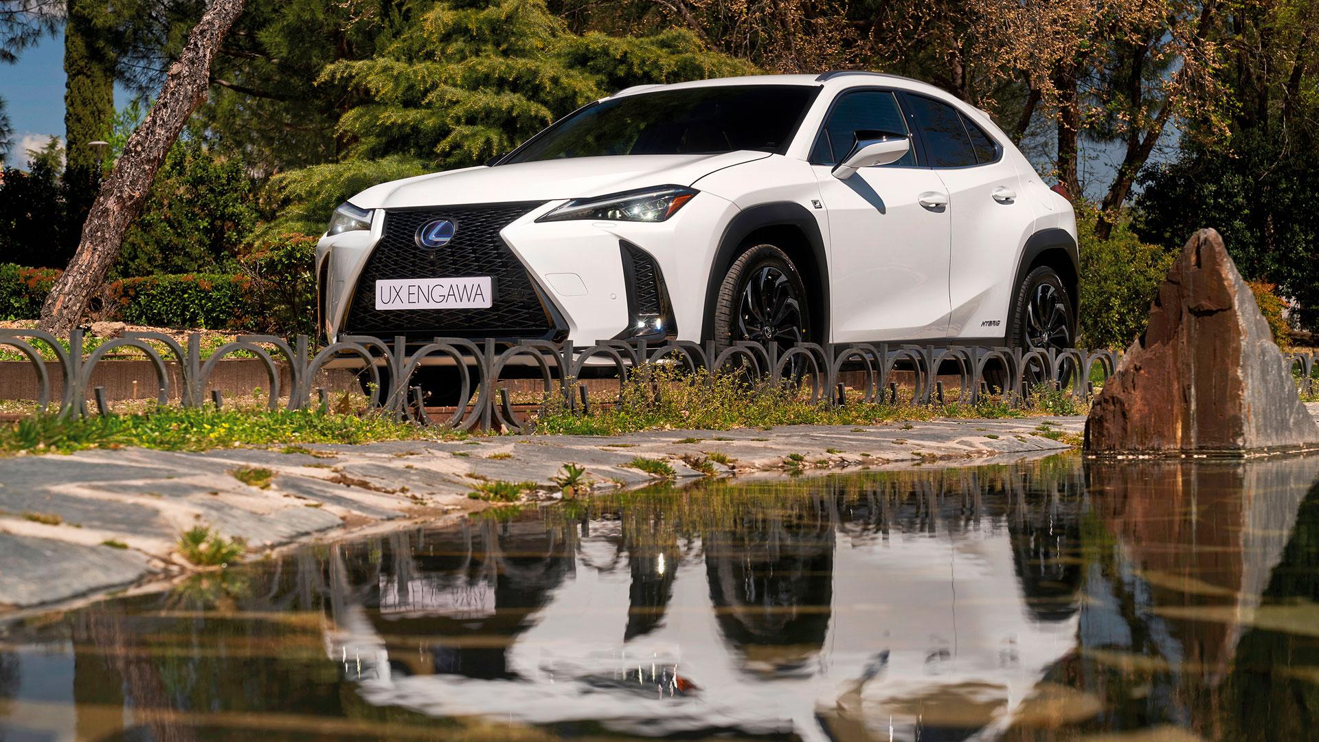 Imagen de la edición limitada Lexus UX Engawa