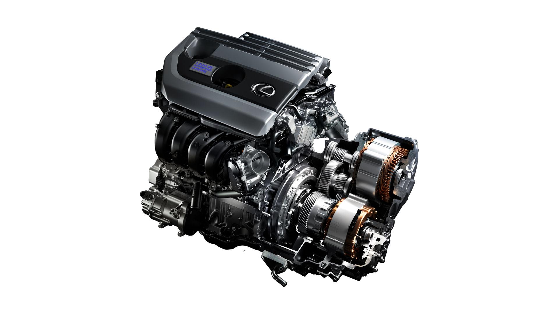 Imágenes de componentes del nuevo Lexus UX 250h