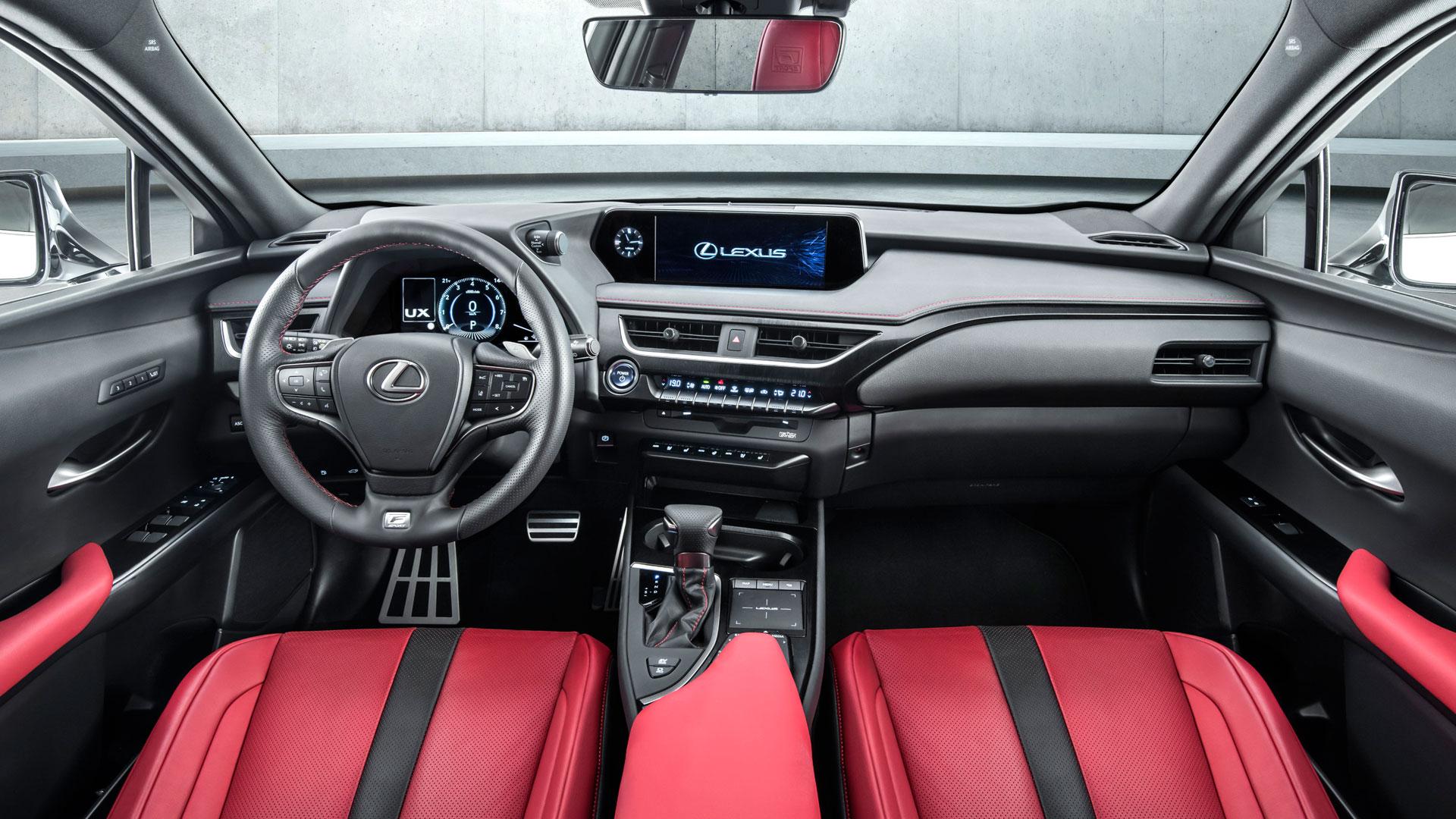 Interior del nuevo Lexus UX 250h