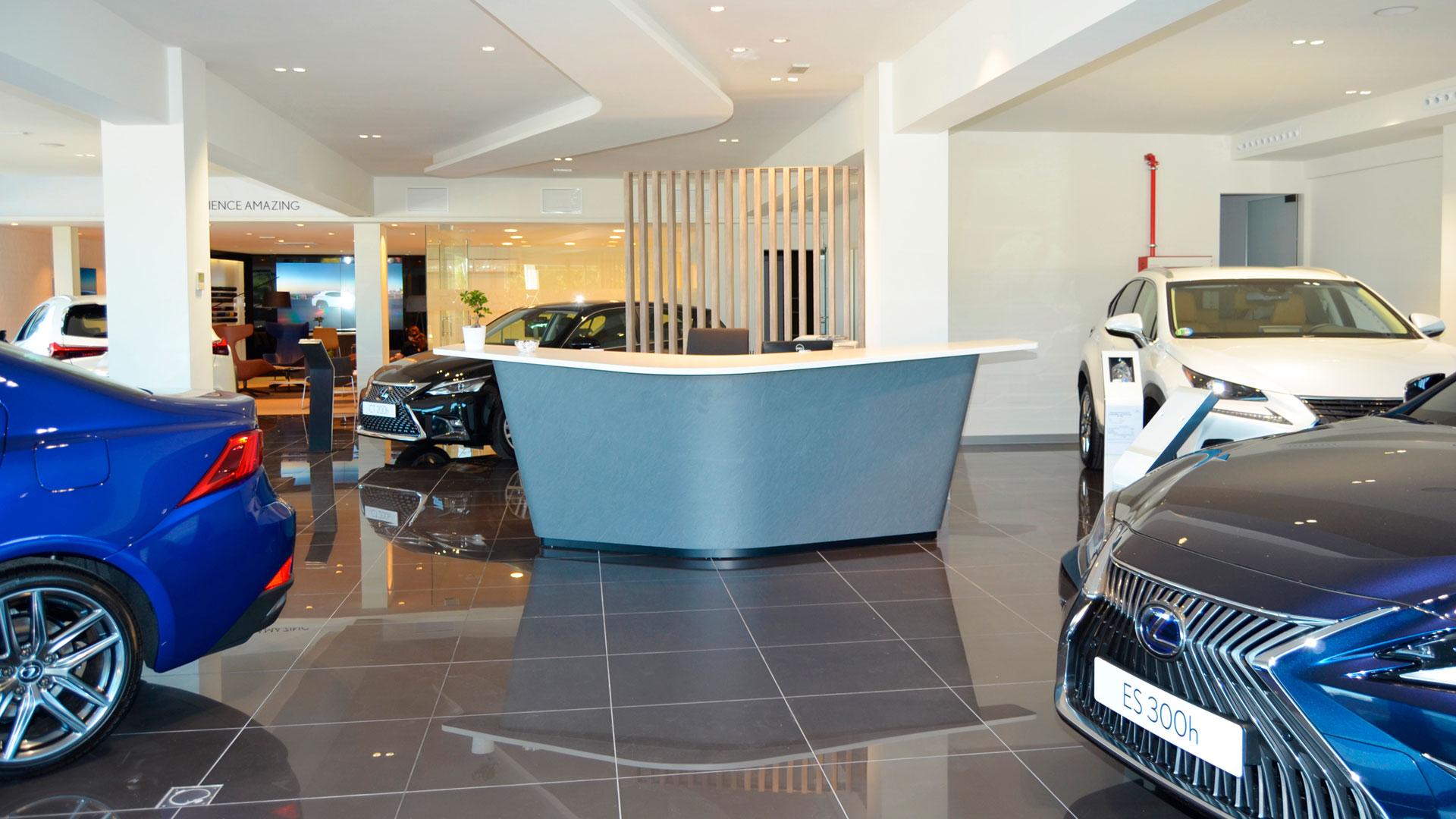 Imagen del concesionario Lexus en Vigo