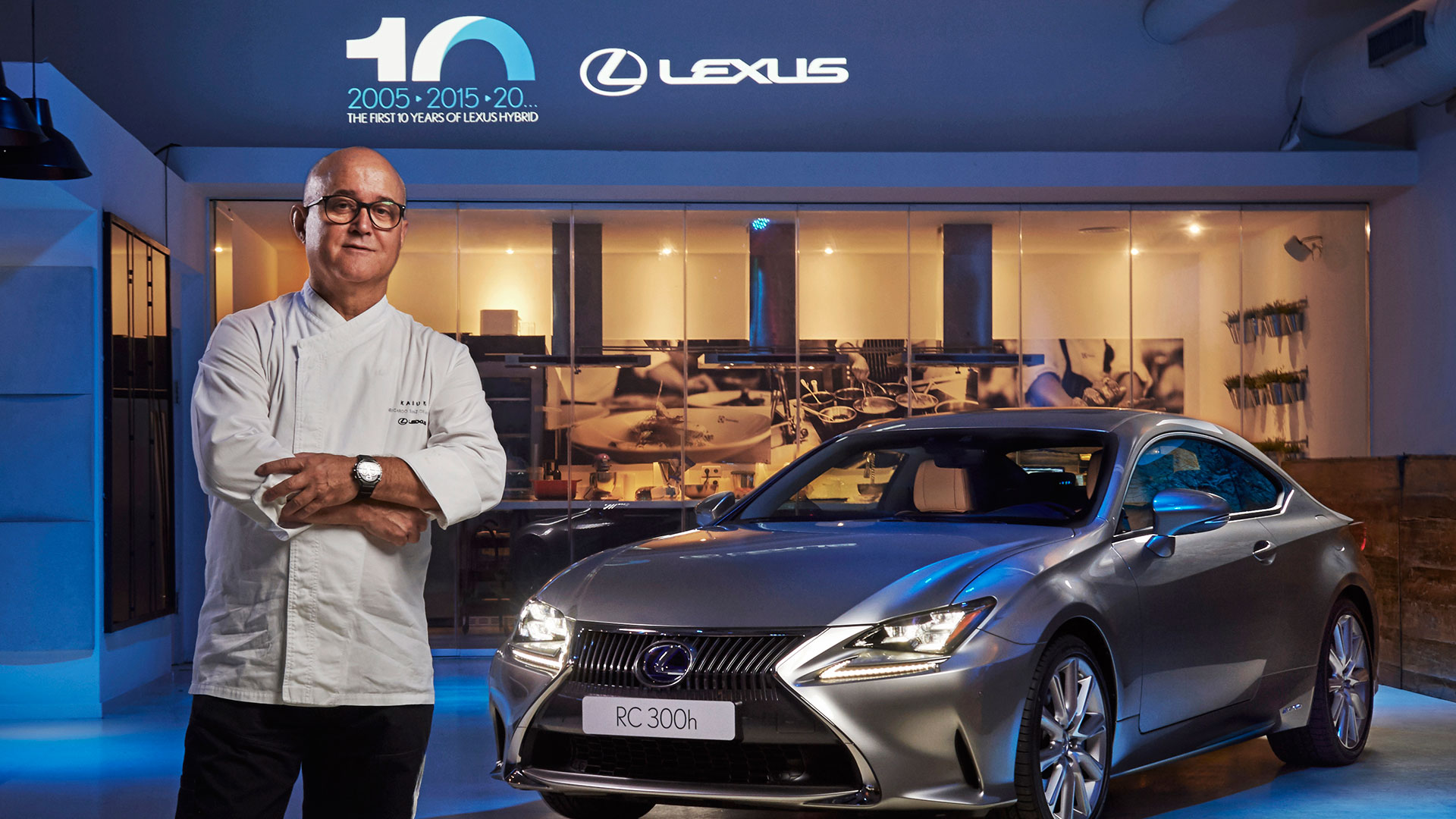 Lexus y Restaurantes Kabuki hero asset