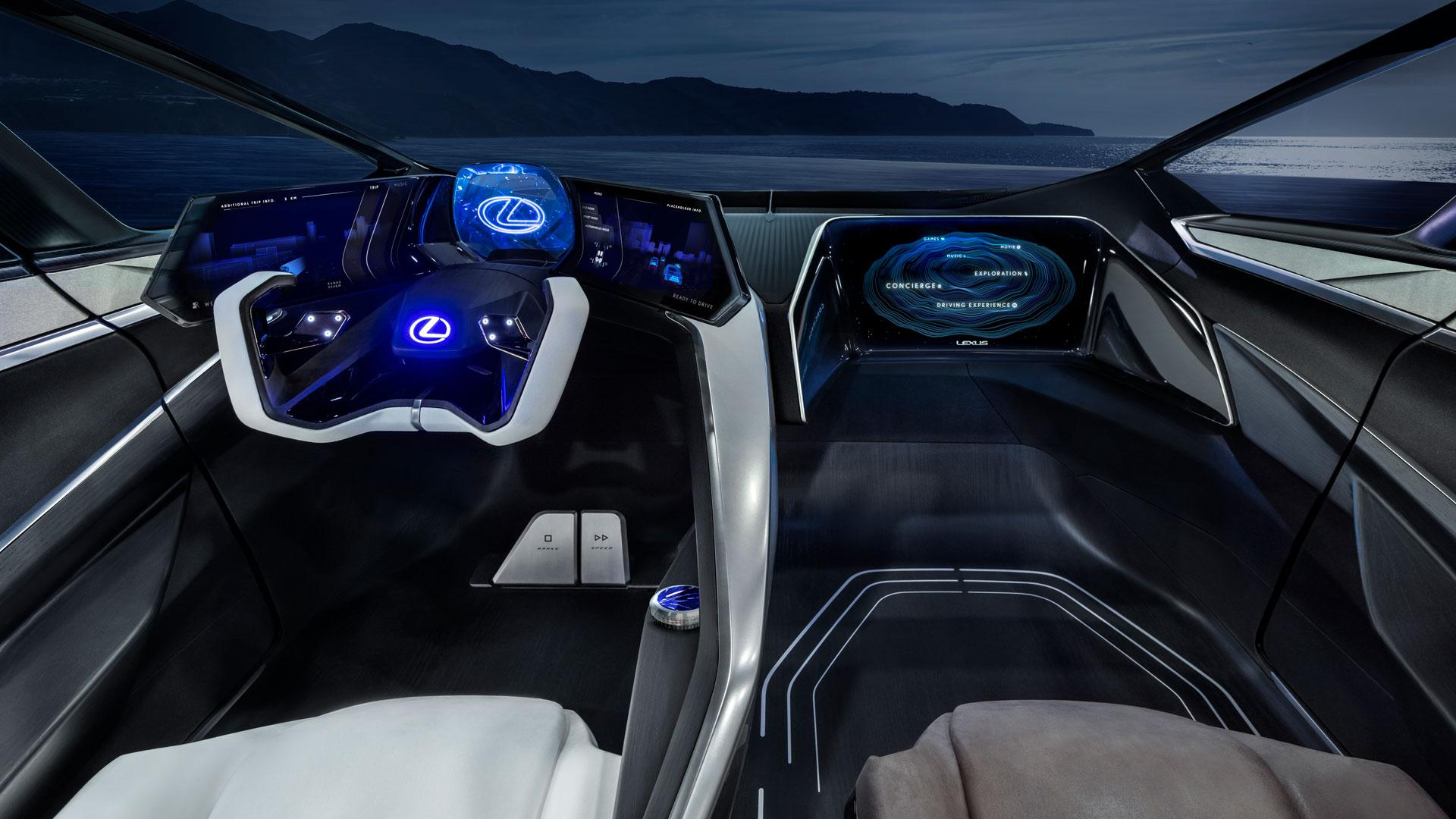 Imagen del prototipo eléctrico de Lexus LF 30