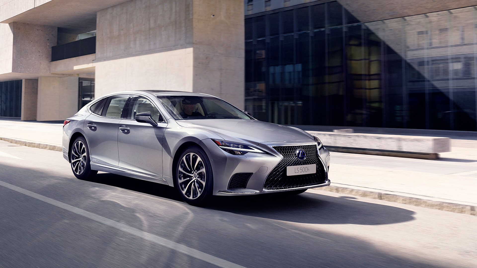 Imagen del Lexus LS 500h