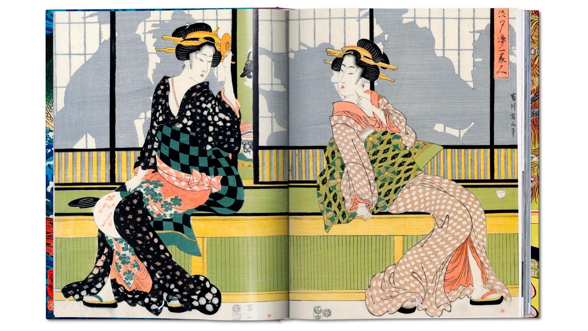 Xilografía japonesa hero asset