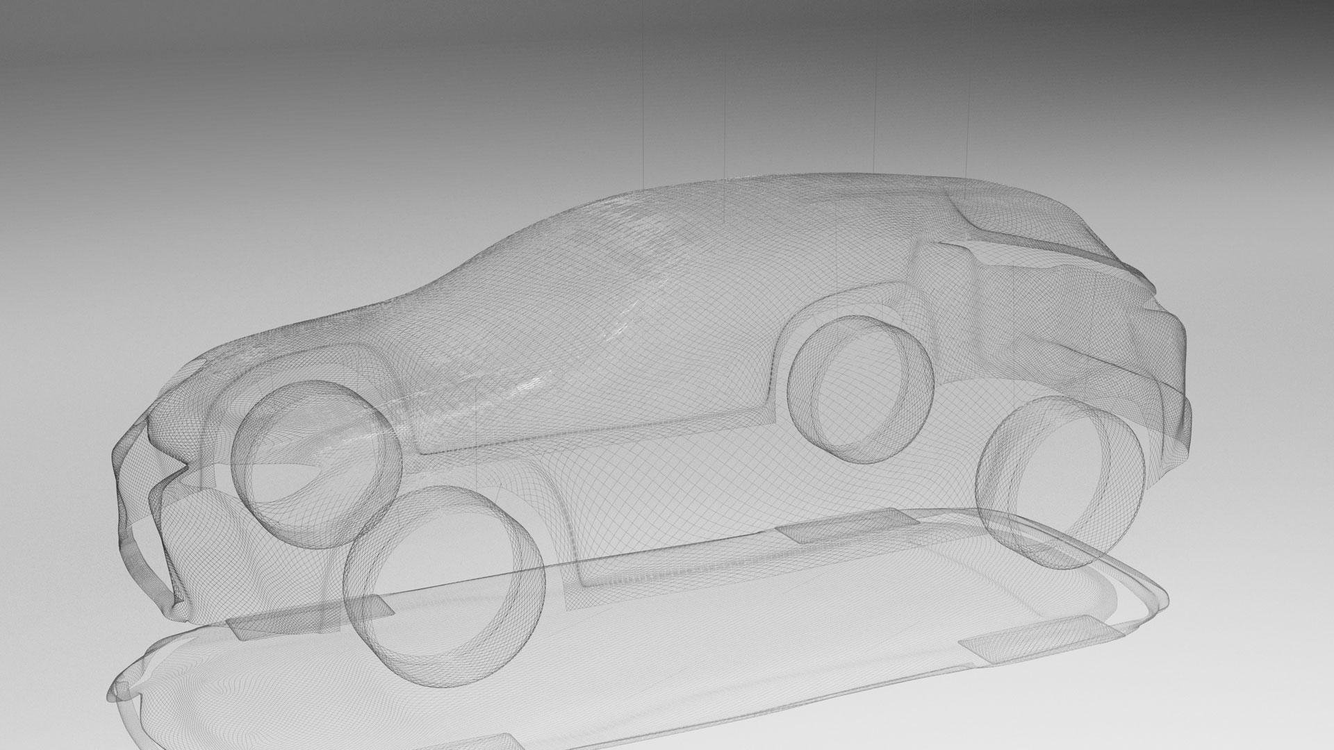 Lexus UX Art Car by Mayice Studio hero asset
