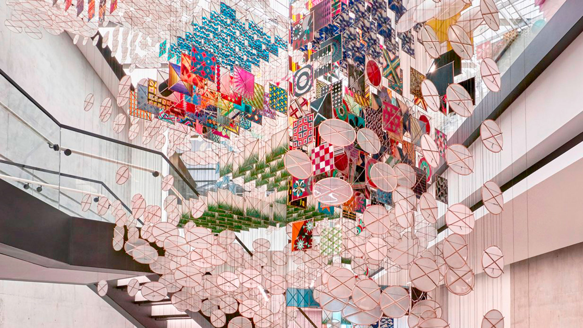 Hamburguesas rodeadas de arte hero asset