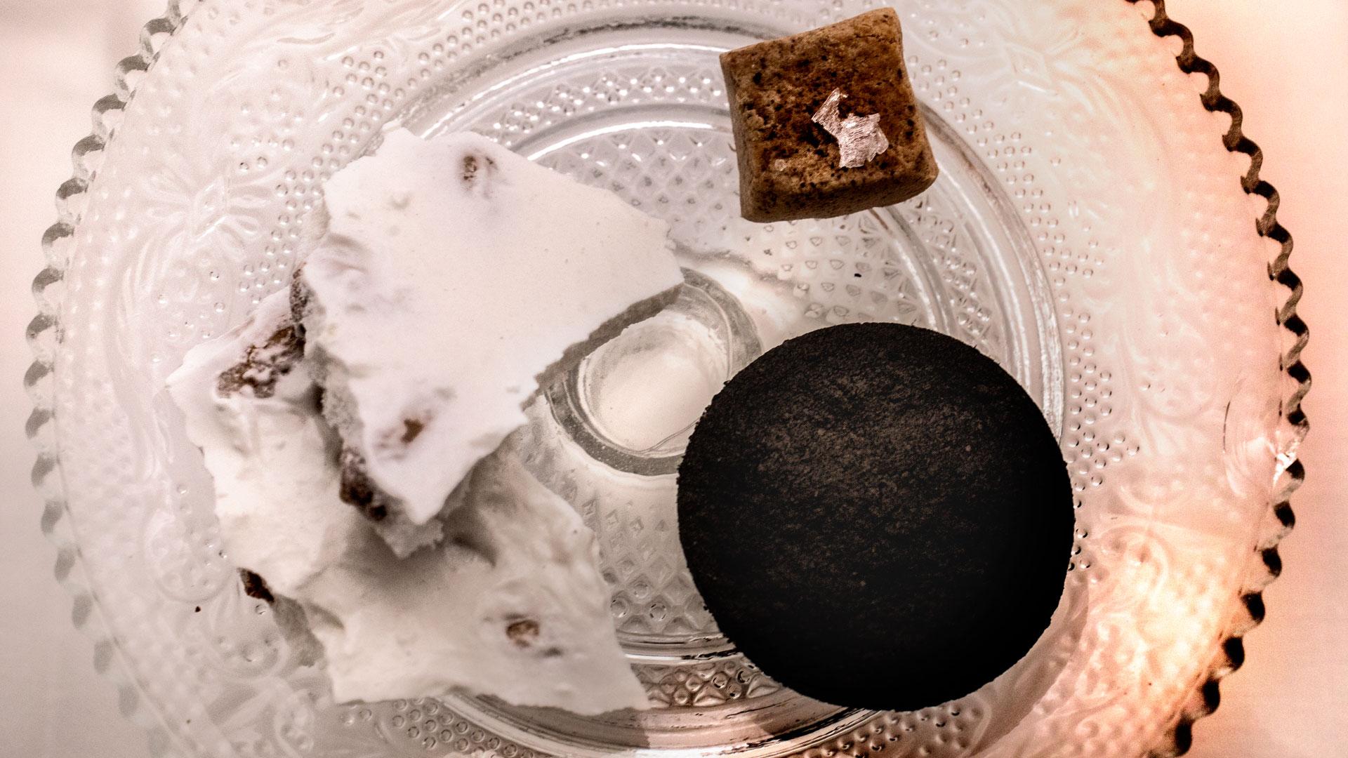 Imagen del menú de Nochevieja en The Westin Palace