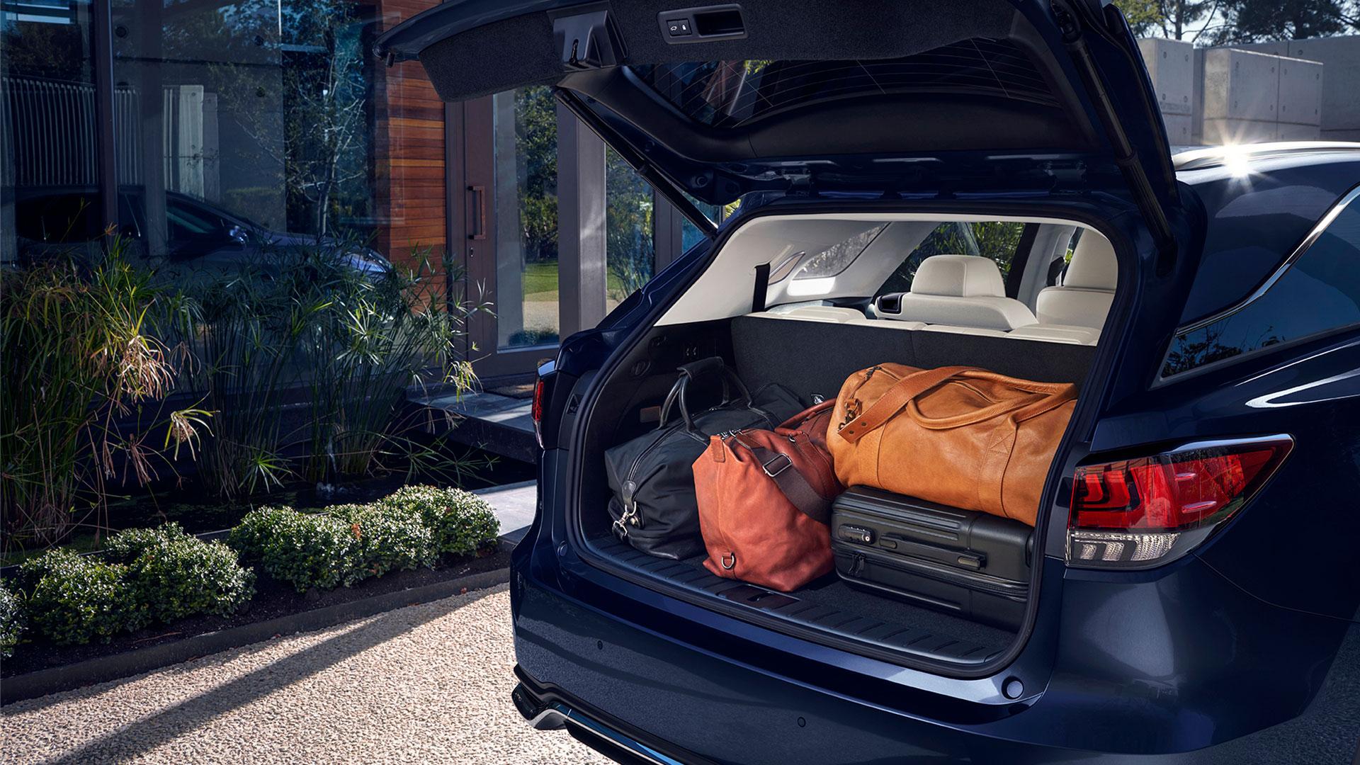 Imagen del nuevo crossover Lexus RX 450h