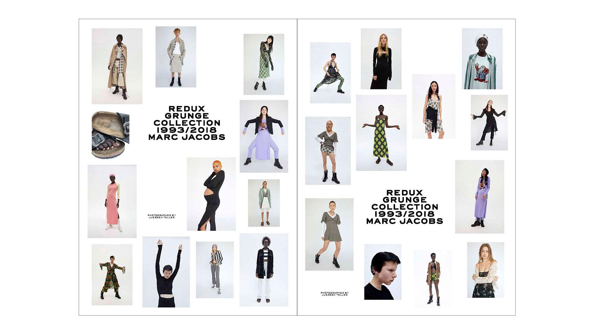 Imagen de la colección Redux Grunge de Marc Jacobs