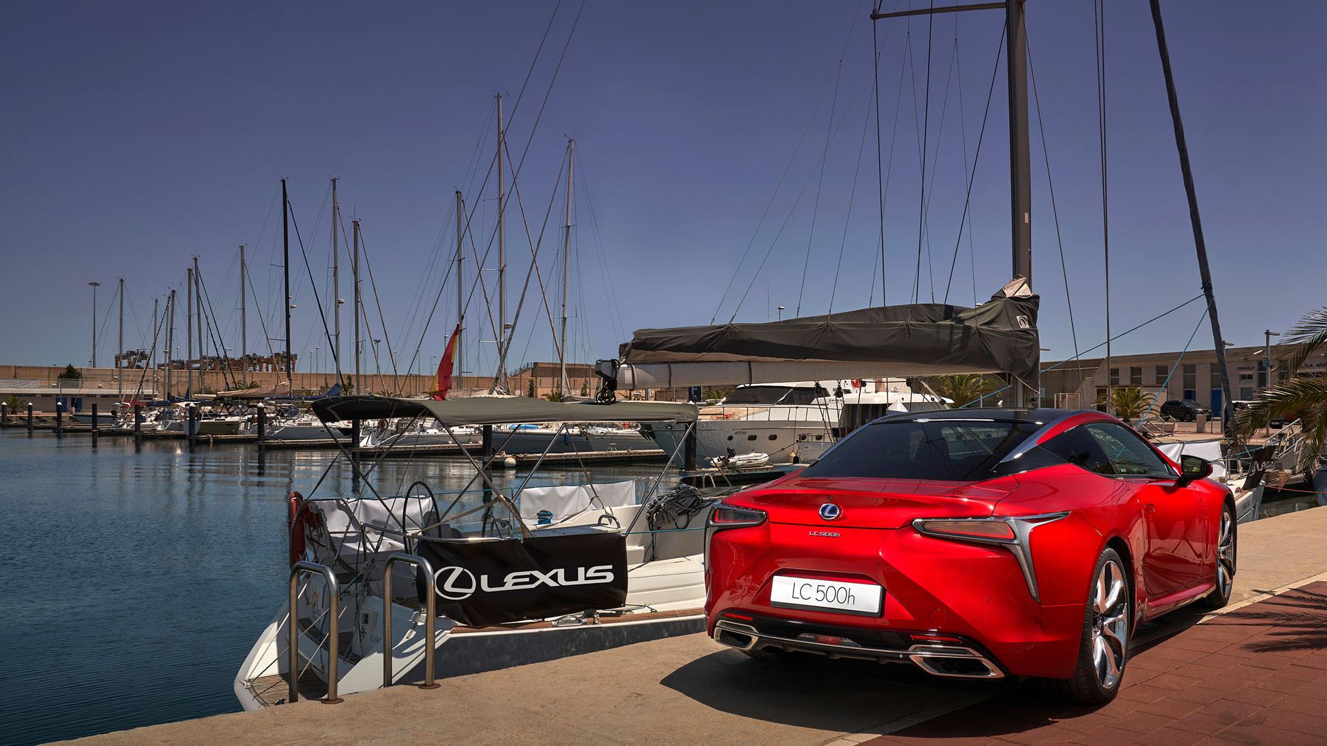 Imagen del LC 500 en Valencia