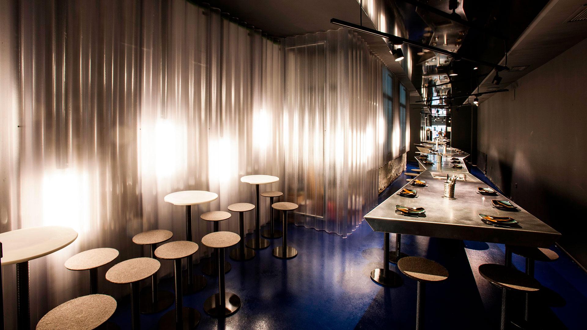 Imágenes del restaurante peruano Barra M en Madrid