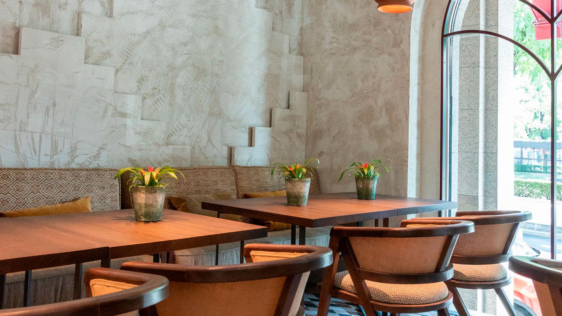 Imágenes del nuevo restaurante Umo del grupo Larumba