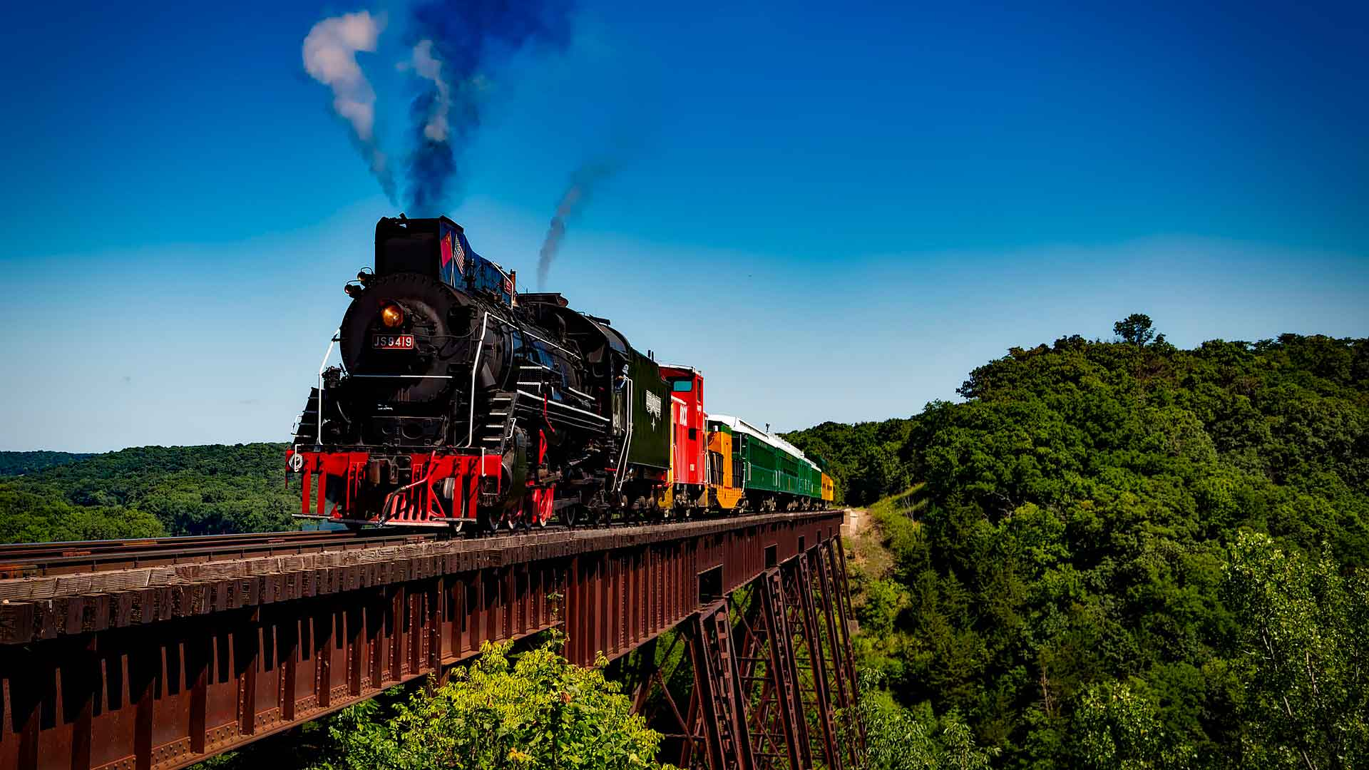 Rutas exóticas en tren hero asset