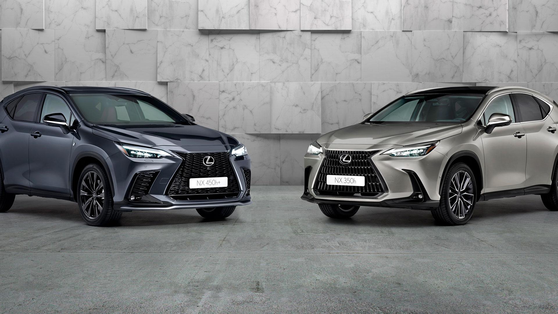 Imagen del nuevo Lexus NX