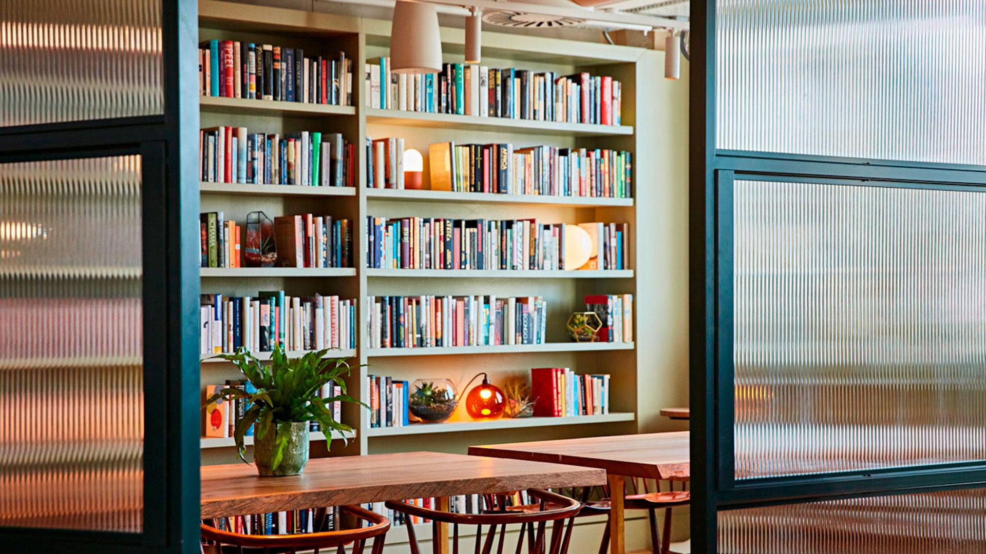 Imagen del interior del club privado The Conduit en Londres