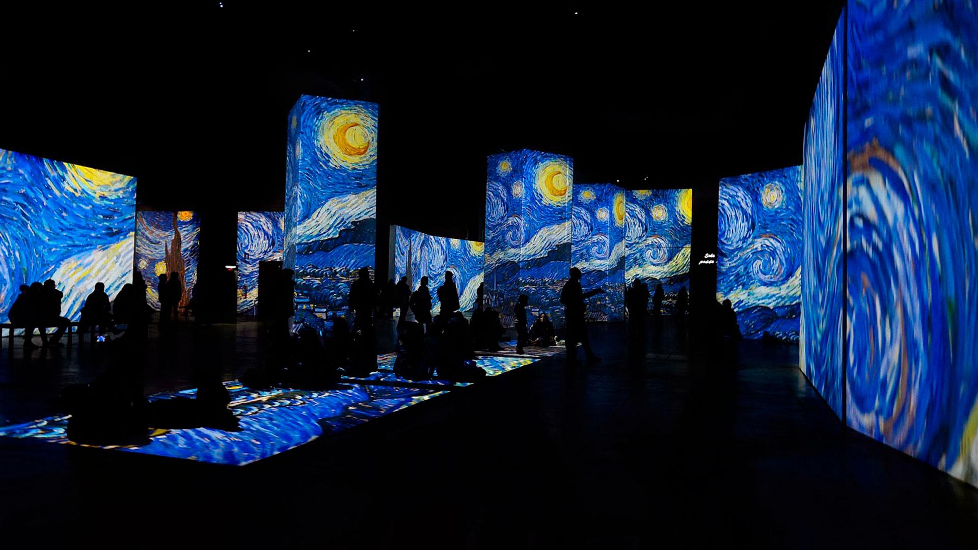 Imagen de la exposición Van Gogh Alive – The Experience