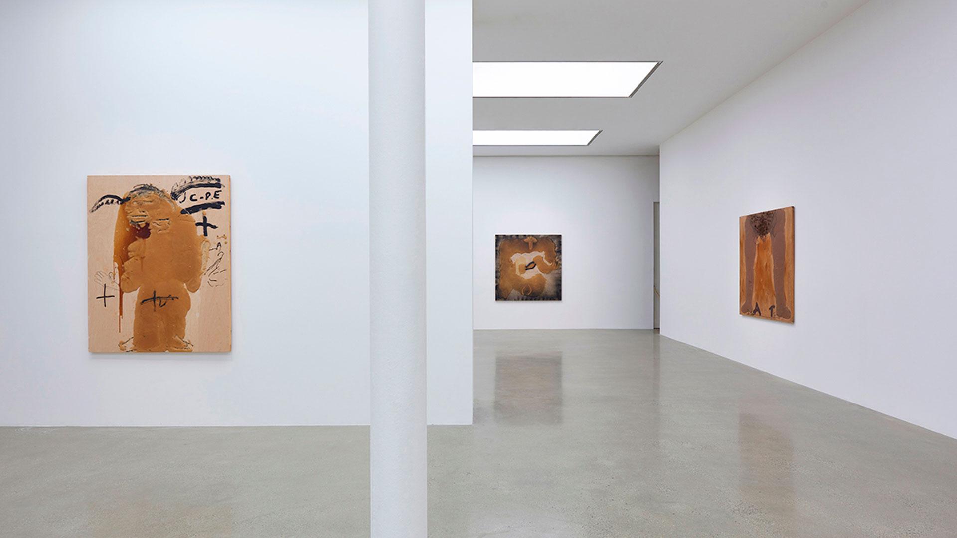 Obra de la exposición itinerante de Tàpies