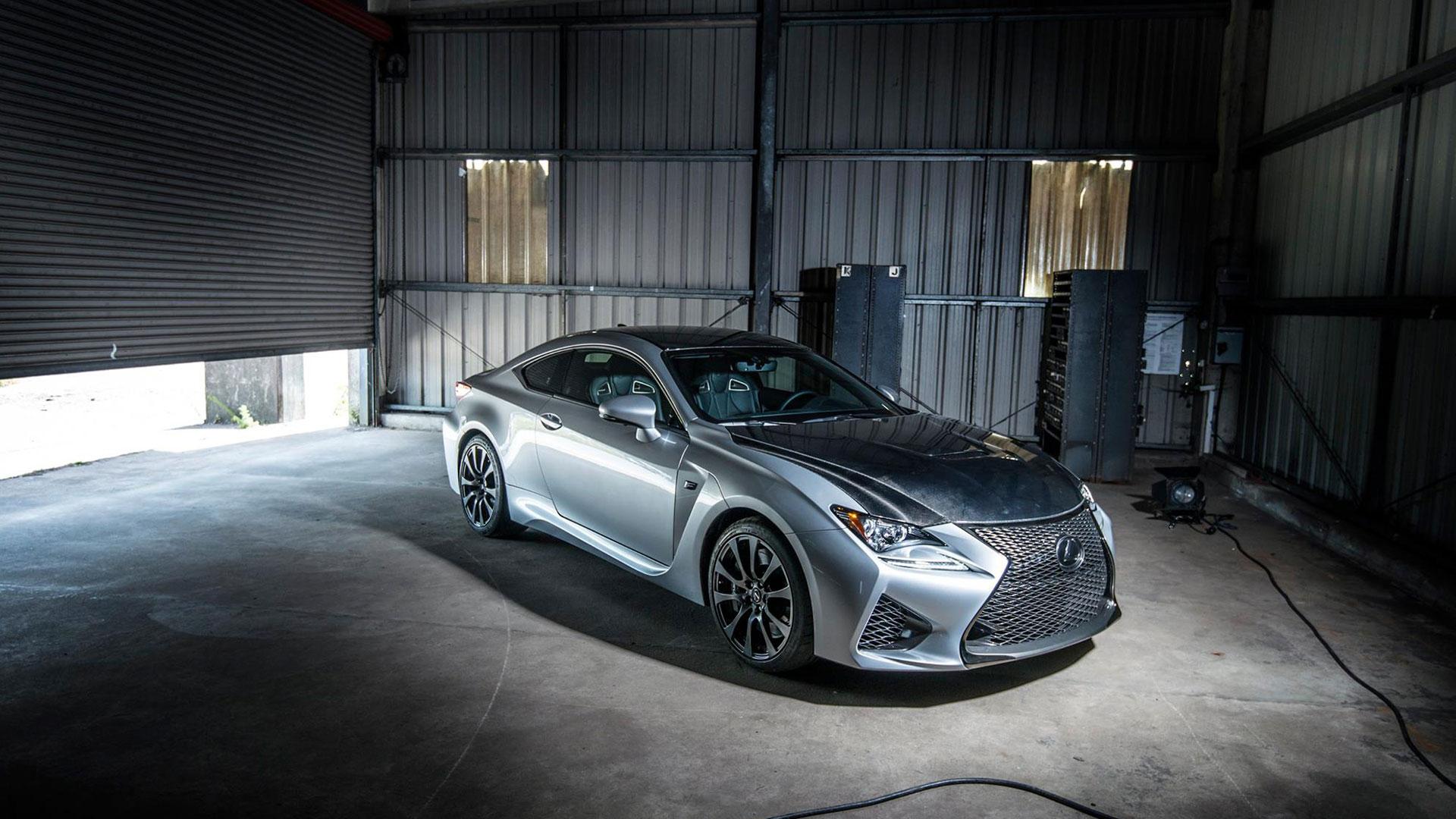 Llega Lexus RC F hero asset