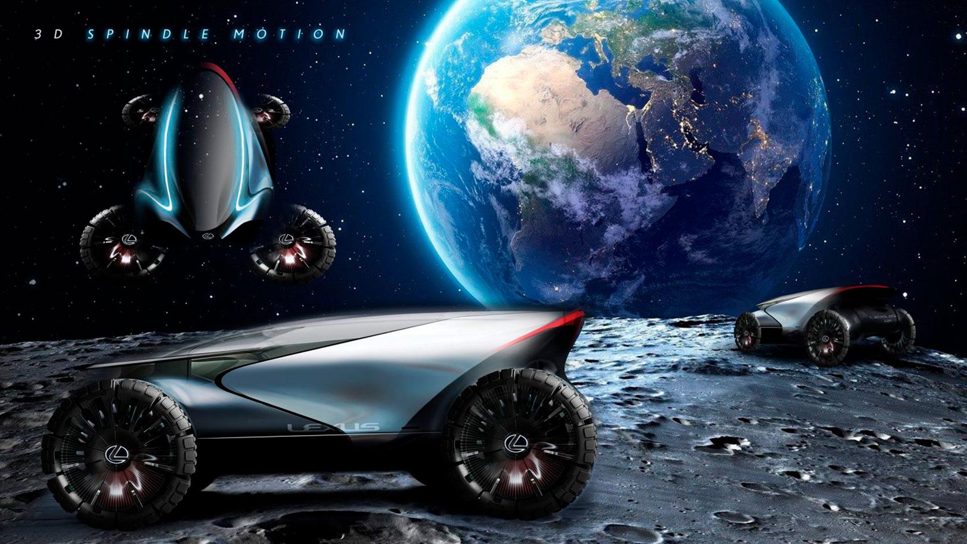 Imagen del prototipo luna de Lexus Zero Gravity