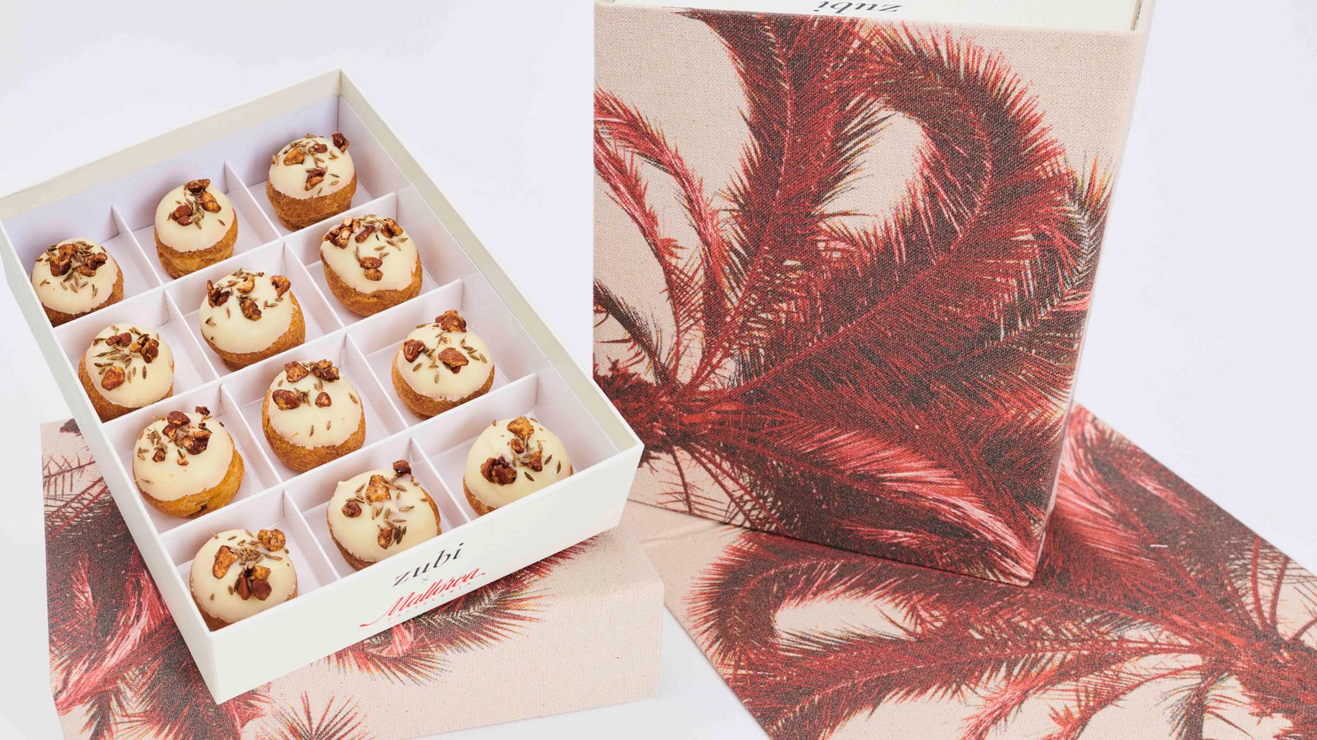 Imagen de caja de pasteles de Mallorca