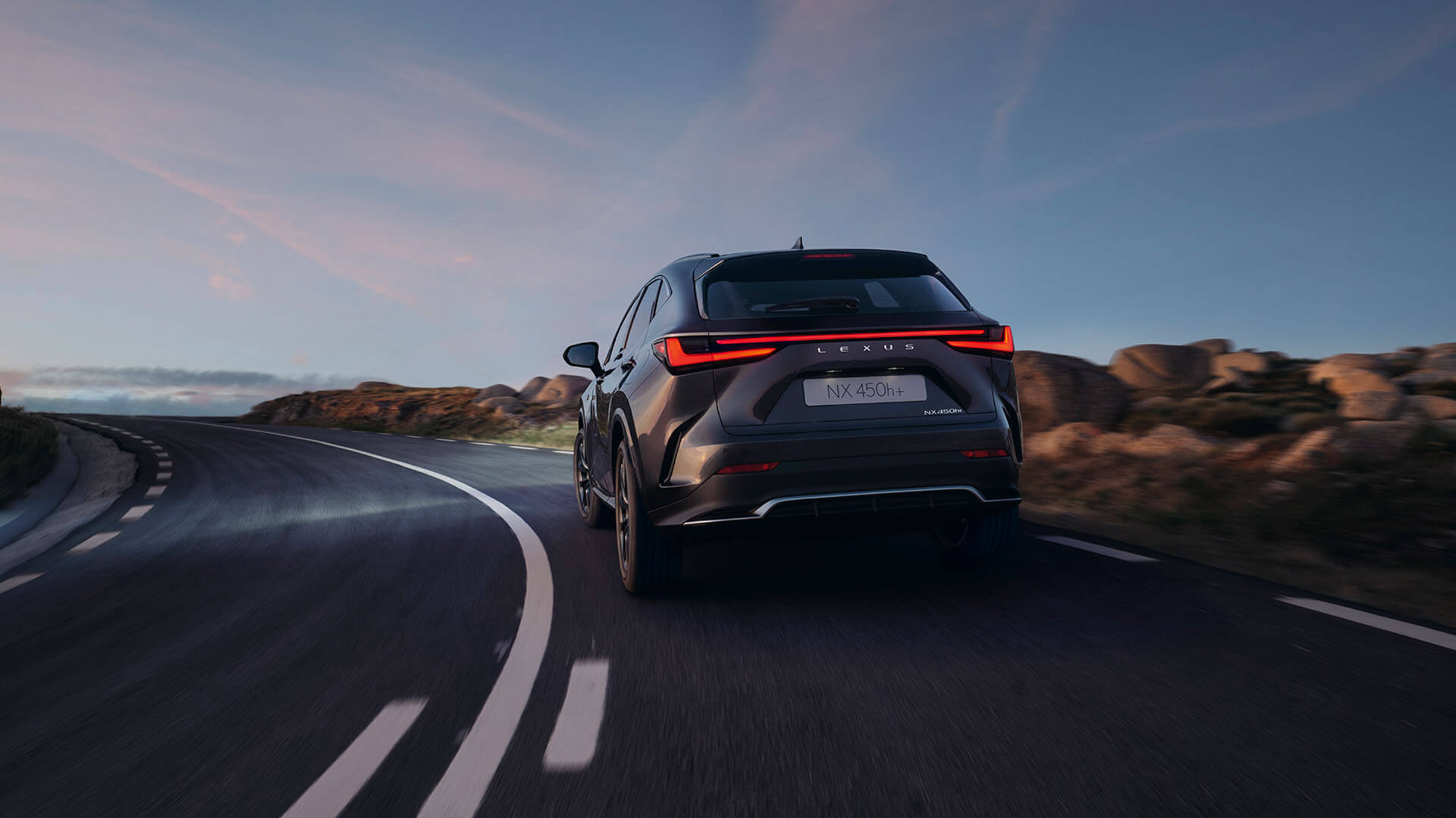 2021 lexus nx experience exterior back extremely strong new platform