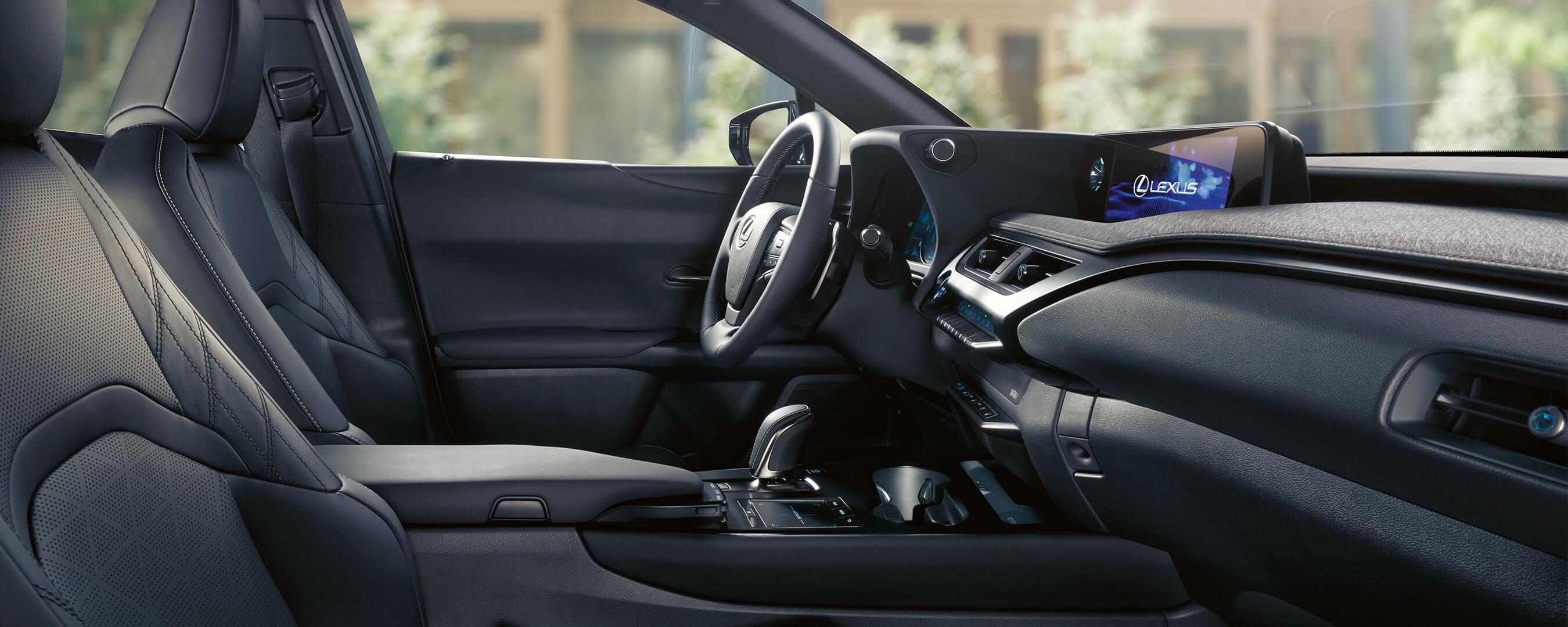 2021 lexus ux 300e experience interior front