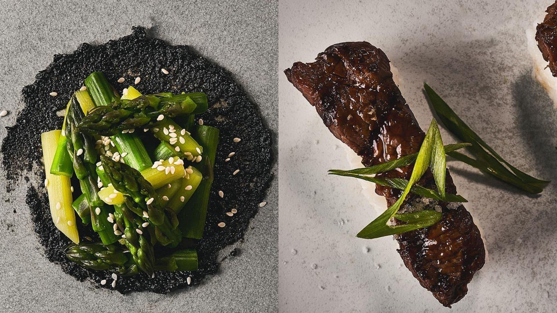 Beef Nigiri Asparagus with Black Sesame 1920 1080