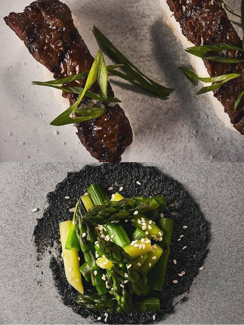 Beef Nigiri Asparagus with Black Sesame 810 1080
