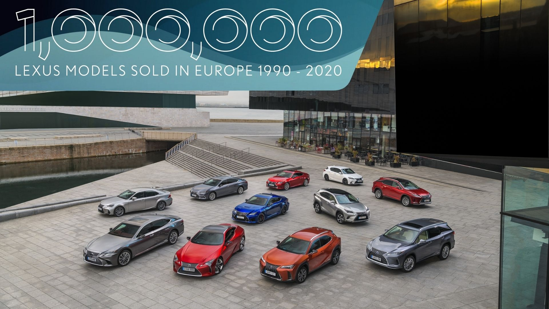 Million Lexus Models Sold in Europe