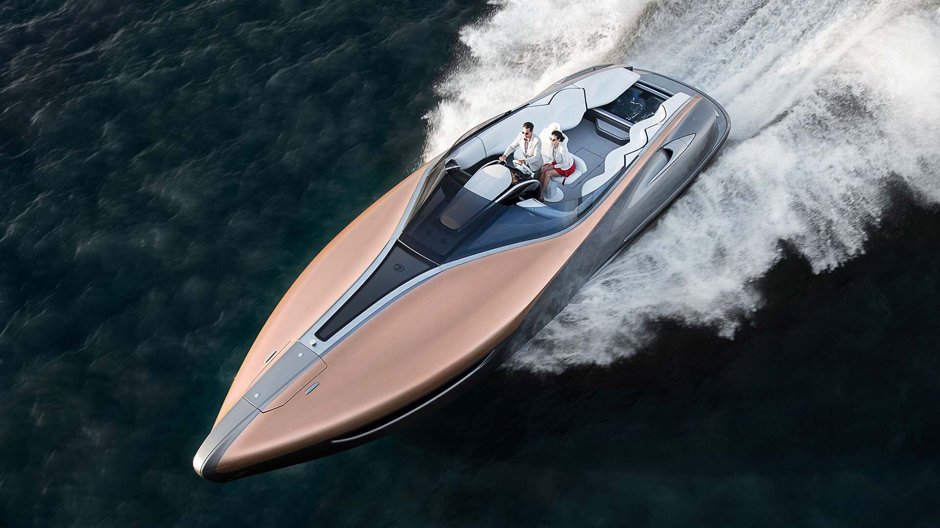 Lexus Reveals Sports Yacht Concept | Lexus UK