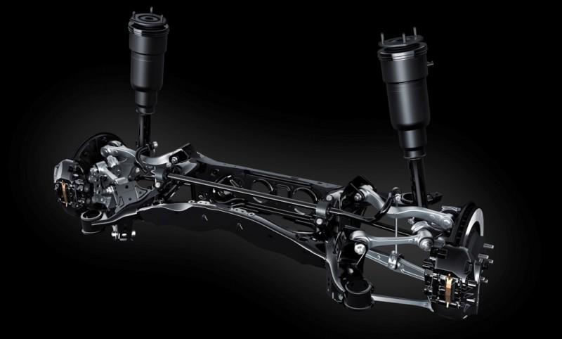 2018 LEXUS LS 7 WAYS air suspension 2