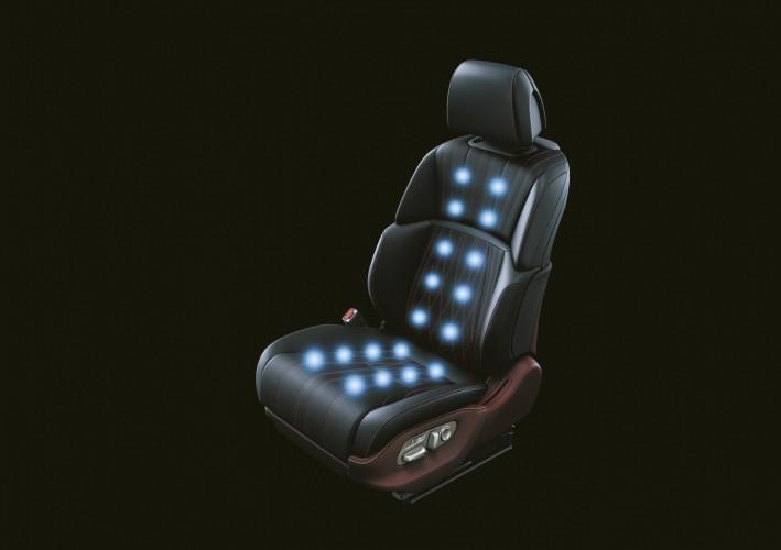 2018 LEXUS LS 7 WAYS seat