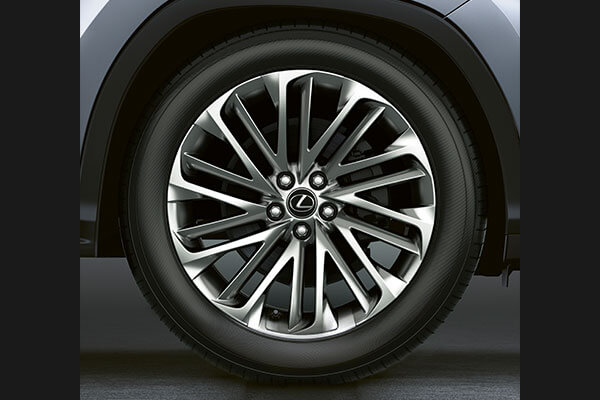 2020 lexus suv rx features 20 alloys 3x2