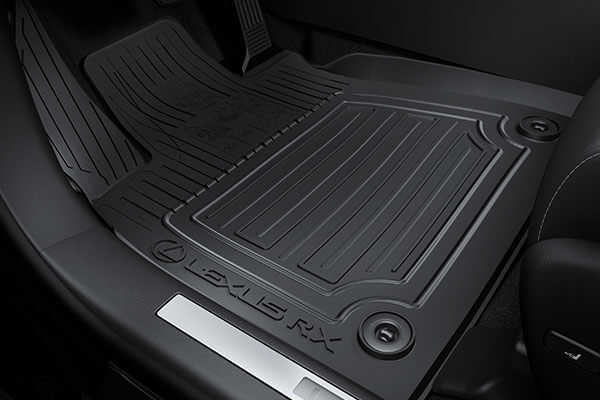 2020 lexus suv rx rxl accessories rubber floor mats 3x2