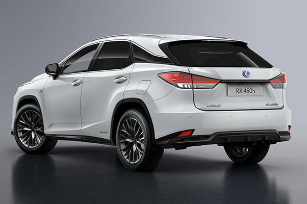 2020 lexus suv rx rxl accessories side rear underrun 3x2