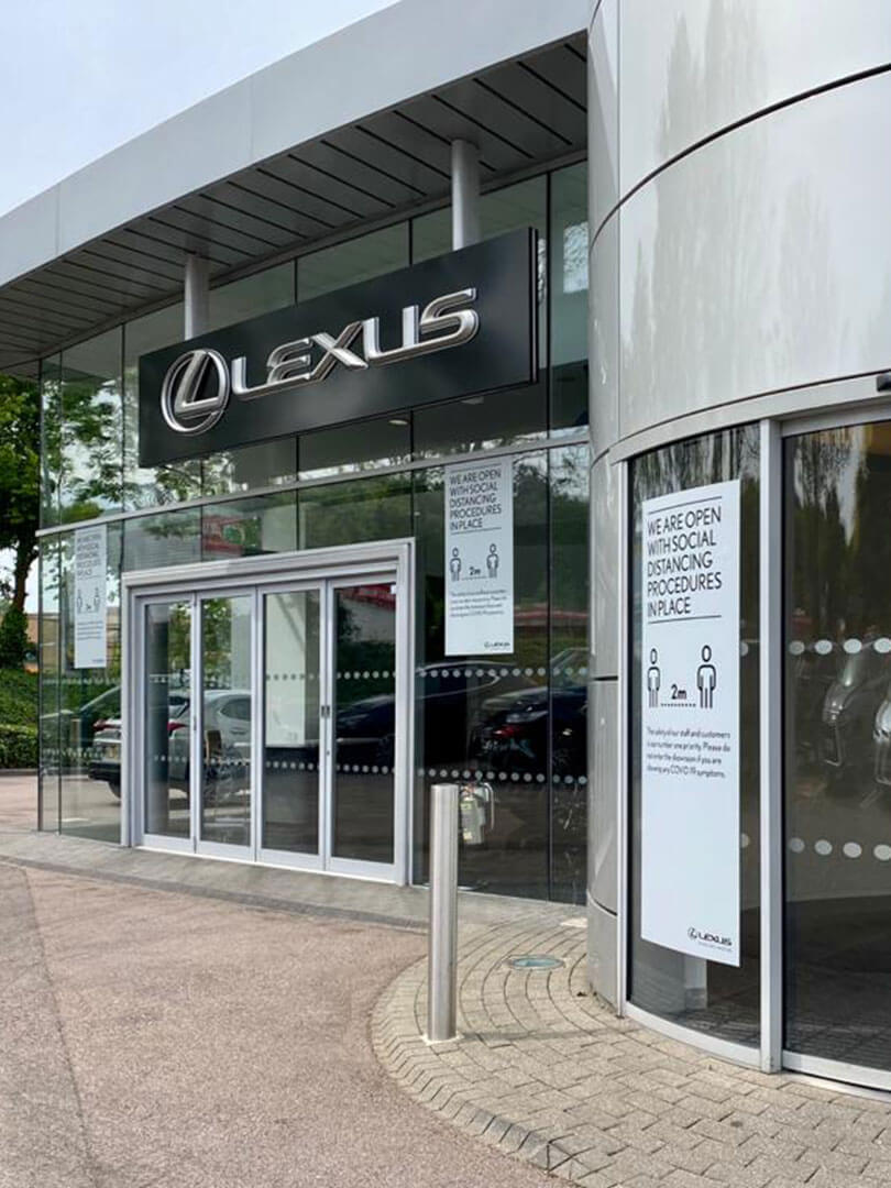 2020 lexus uk centre reopening 02 new used car sales