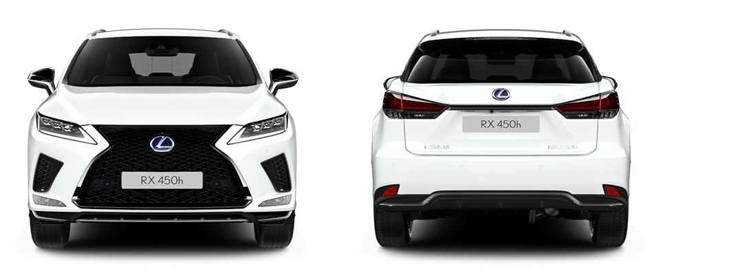 2020 lexus uk size comparison rx front rear