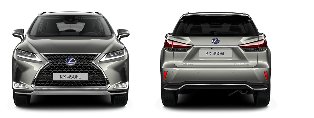 2020 lexus uk size comparison rxl front rear