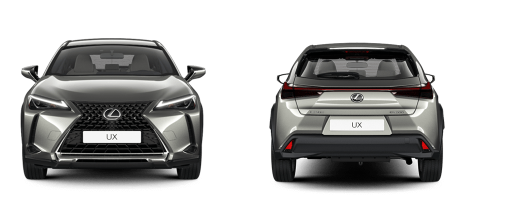 2020 lexus uk size comparison ux front rear 1060x400 tcm 3157 1816322