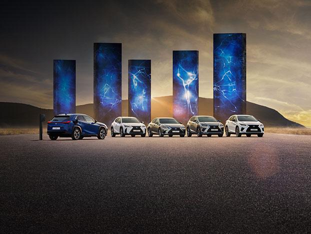 2021 lexus spring offers campaign homepage grid
